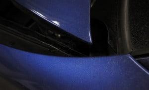Buttersäure Anschlag am Auto