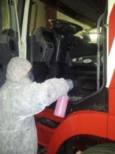 Buttersäure Anschlag auf LKW