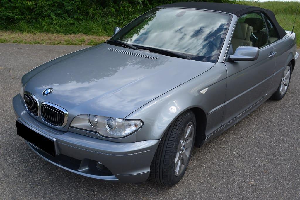 Buttersäureanschlag BMW 320 Cabrio
